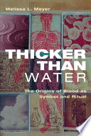 Thicker Than Water Book PDF