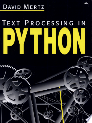 Text Processing in Python - ISBN:9780321112545
