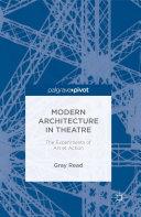 Modern Architecture in Theatre