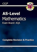 AS Level Maths AQA Complete Revision and Practice