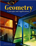 Geometry  Concepts and Applications  Student Edition