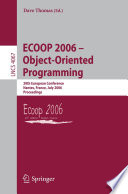 ECOOP 2006 - Object-Oriented Programming