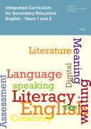 Integrated Curriculum for Secondary Education English - Years 1 and 2