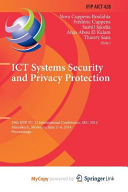 Ict Systems Security and Privacy Protection