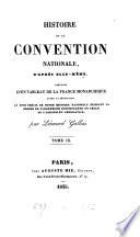 Histoire de la Convention nationale d'après elle-même