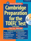 Cambridge Preparation for the TOEFL   Test Book with CD ROM and Audio CDs Pack