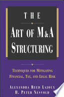 The Art of M A Structuring