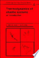 Thermodynamics of Chaotic Systems