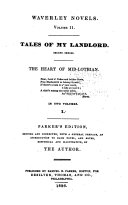 download ebook tales of my landlord, second series: the heart of mid-lothian pdf epub