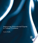 Improving Educational Equity in Urban Contexts