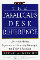 The Paralegal's Desk Reference