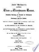 Josef Wathner's praktischer Eisen- und Eisenwaaren-Kenner, oder Gründliche Anleitung zur Kenntniss der Eisenwaaren und ihrer Gattungen nach den Zeichen