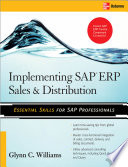 Implementing SAP ERP Sales   Distribution