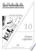 Insegnare e apprendere - quaderni spaee 10
