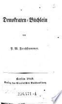 Demokraten-Büchlein