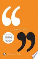 Mastering Core TOEFL iBT TOEIC Words
