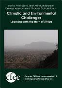 Climatic and Environmental Challenges  Learning from the Horn of Africa