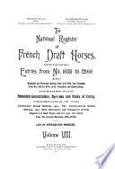 National Register of French Draft Horses