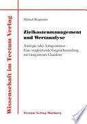 Zielkostenmanagement und Wertanalyse