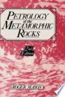 Ebook Petrology of the Metamorphic Rocks Epub R. Mason Apps Read Mobile
