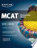 Kaplan MCAT Biochemistry Review