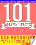 One Hundred Years of Solitude   101 Amazing Facts You Didn t Know