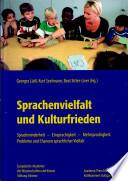 Sprachenvielfalt und Kulturfrieden