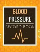 Blood Pressure Record Book