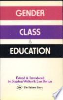 Gender  Class   Education