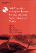 Soil-vegetation-atmosphere Transfer Schemes and Large-scale Hydrological Models