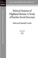 Political Systems of Highland Burma