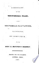 Ebook A descant on the universal plan, or, Universal salvation Epub John Peck Apps Read Mobile