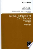 Ethics  Values and Civil Society
