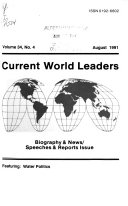 Current World Leaders Book PDF