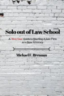 Solo Out of Law School