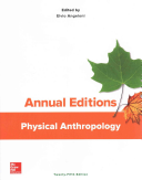 Annual Editions  Physical Anthropology  25 e