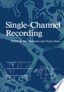 Single Channel Recording book