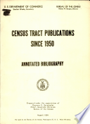 Census tract publications since 1950
