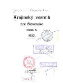 Krajinský vestník pre Slovensko