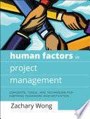 Human Factors In Project Management