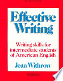 Effective Writing Student s Book