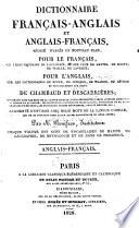 Dictionnaire fran  ais anglais et anglais fran  ais r  dig   d apr  s un nouveau plan