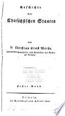 Geschichte d. Chursächsischen Staaten