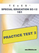 Texes Special Education Ec 12 161 Practice Test 2
