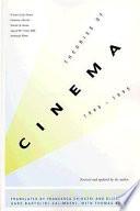 Theories of Cinema  1945 1995