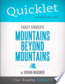 download ebook quicklet on tracy kidder's mountains beyond mountains pdf epub