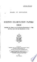 Science Examination Papers