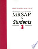 MKSAP for Students 3