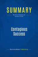Summary: Contagious Success