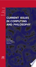 Current Issues In Computing And Philosophy book